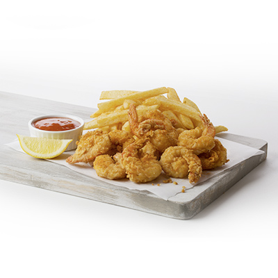 Combo 2 - Fried Shrimp and Fries