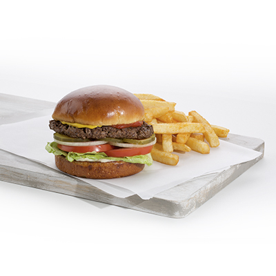 Combo 6 - Burger and Fries