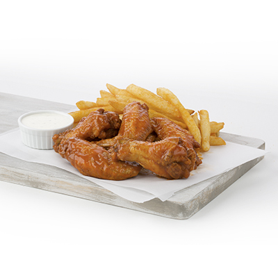 Combo 7 - Wings and Fries