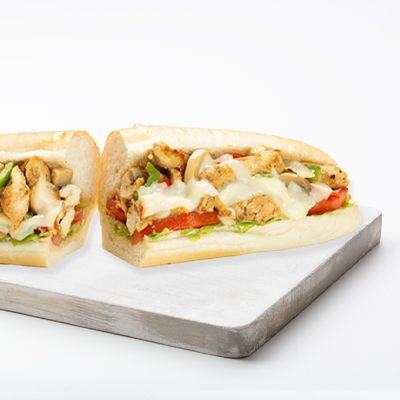Sandwiches - Philly - Chicken - Grilled