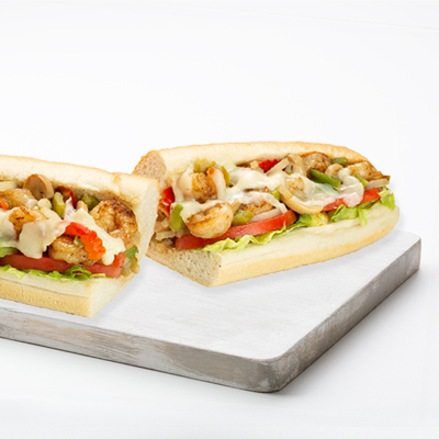 Sandwiches - Philly - Shrimp - Grilled