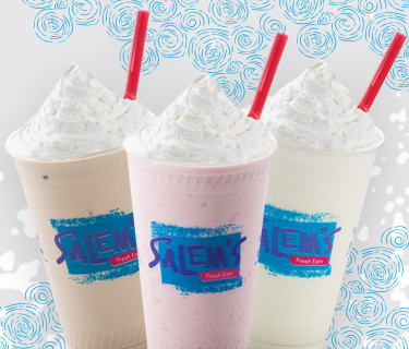 Try One of Salem's Delicious Shakes!
